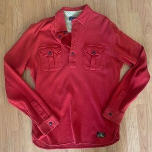 Brand New Ralph Lauren fleece button up pullover